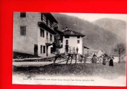 Saluti Da Chialamberto (Val Grande Stura) Borgata Casa Bianca) - Animée - Italia