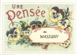08  WASIGNY   ..  .....  Souvenir  Creation Moderne Série Limitée Et Numerotée 1 à 10 ... N° 2/10 - Frankreich