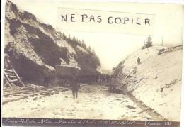 Doubs: Rare, Ligne Frasne-Vallorbe, Retirage Photo, Tranchée De L´Enclos, Bien Lire Le Descriptif - Other Municipalities