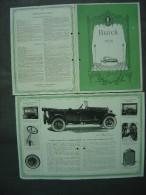 1925 - D�pliant ancien - gamme Voitures BUICK