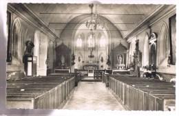LA CROIX - SAINT - LEUFROY . Intérieur De L'Eglise . - France