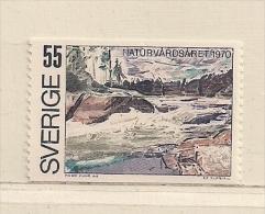 SUEDE  ( D16- 3117  )  1970      N° YVERT ET TELLIER    N°  655      N** - Suède