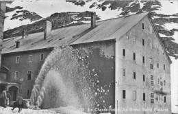 Chasse Neige Au Grand Saint Bernard 1954 - VS Valais