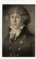 Musée Carnavalet - Portrait De Saint Just , Une Des Figures Les Plus Frappantes De La Révolution - Personnages