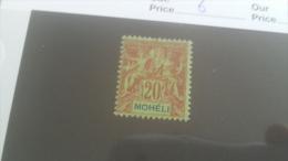 LOT 227552 TIMBRE DE COLONIE MOHELI NEUF* N�6 VALEUR 14,5 EUROS