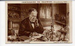 Centenaire De PASTEUR (strasbourg 1923) Offert Par L'URODONAL - Collection Du Dr Manget - Santé