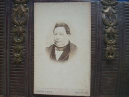 Photo CDV P.Weynen à Maestricht -  Portrait Homme (Loisel), Bourgoisie Second Empire, Circa 1865 L168A - Anciennes (Av. 1900)