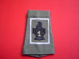 PASSANT D'EPAULE 1°RG / 1° REGIMENT  DE GENIE / CAS - Patches