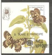 Hb-111 S, Tome E Principe - Schmetterlinge