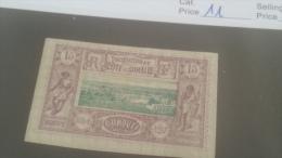 LOT 227642 TIMBRE DE COLONIE SOMALIS NEUF* N�11 VALEUR 25 EUROS