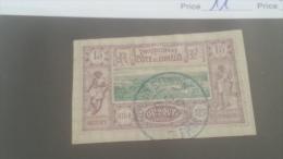 LOT 227643 TIMBRE DE COLONIE SOMALIS OBLITERE N�11 VALEUR 11 EUROS