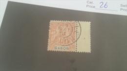 LOT 227659 TIMBRE DE COLONIE GABON OBLITERE N�26 VALEUR 24 EUROS