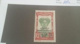 LOT 227670 TIMBRE DE COLONIE GABON NEUF* N�114 VALEUR 15 EUROS