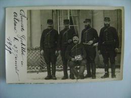 CARTE PHOTO ALSACE LE 27 JANVIER 1915 - MILITAIRES - Guerre 1914-18