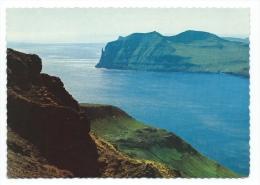 Iles Féroé  -  Faroe Islands  - View From Streymoy Towards Vagar  (voir Scan Du Dos) - Féroé (Iles)