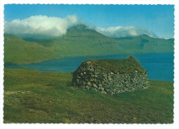 Iles Féroé  -  Faroe Islands  - Old Peat Stock-House   (voir Scan Du Dos) - Féroé (Iles)