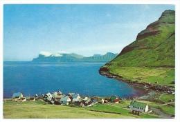 Iles Féroé  -  Faroe Islands  -  Elduvik  (voir Scan Du Dos) - Féroé (Iles)