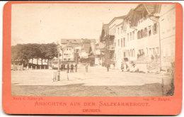 GMUNDEN , Gmunden Esplanade , Von W. Burger , Dim. 11.0 Cm X 7.0 Cm . - Non Classés