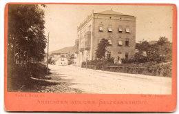 GMUNDEN , Hotel Belle Vue , Von W. Burger , Dim. 11.0 Cm X 7.0 Cm . - Non Classés