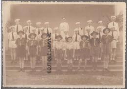 CONGO BELGE--LEOPOLVILLE--College Albert 1°-- 6°Primaire 1947 -Photo 9.8/14 Ctms -Scouts-Enfants- - Kinshasa - Léopoldville