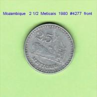 MOZAMBIQUE   2 1/2  METICAIS  1980   (KM # 100) - Mozambique