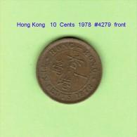 HONG KONG   10  CENTS  1978   (KM # 28.3) - Hong Kong