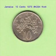 JAMAICA   10  CENTS  1975  (KM # 54) - Jamaica