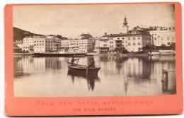 GMUNDEN , Seeplatz   , Von Wilh Burger , Dim. 11.0 Cm X 7.0 Cm . - Non Classés