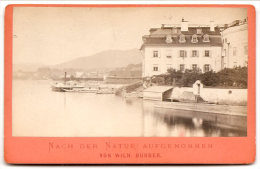 GMUNDEN , Landungsplatz   , Von Wilh Burger , Dim. 11.0 Cm X 7.0 Cm . - Non Classés