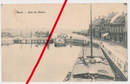 Menin Menen - Quai Du Bassin - 1915 - Geschrieben Aus Halluin - Menen