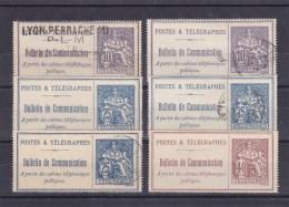 Bel ensemble de fin de catalogue (colis postaux Postes Serbes, Alsace .. pour une cot� d'environ 2000 euros. A saisi !!!