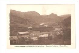 CPA :43 - Retournac : Chamalières - Soir D'Octobre : Edifice Religieux - Cours D'eau - Pont - Relief ...PEU COMMUNE - Retournac