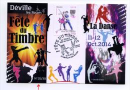Fete Du Timbre 2014 Deville Les Rouen Danse - Personalized Stamps