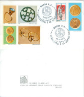 Annullo Postale, Erinnofili I Longobardi E La Lombardia 15/10/1978 - C26 - Erinnophilie