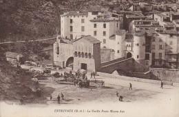 04 ENTREVAUX  La Vieille Porte Moyen Age - France