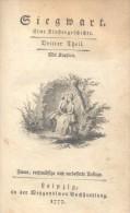 SIEGWART, Eine Klostergeschichte  MILLER, Johann Martin LEIPZIG 1777 DRITTER THEIL  400 PAGES RARISIME - Bücher, Zeitschriften, Comics
