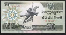 KOREA NORTH  P30   50   WON   1988     UNC. - Corée Du Nord
