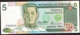 PHILIPPINES   P166a   5  PISO   1981   UNC. - Philippines