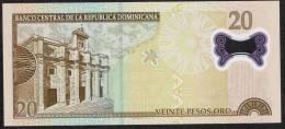 DOMINICAN REPUBLIC P182  20  P.O.  2009       UNC. - República Dominicana