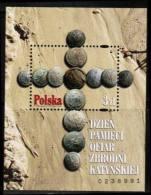 Poland 2010 Mi Block 193 Katyn**MNH - Ongebruikt