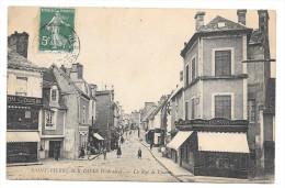 (760-14) Saint Pierre Sur Dives - La Rue De Lisieux - France