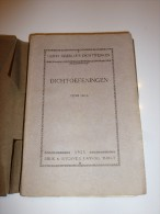 Dichtoefeningen Guido Gezelle 1925 (uitg Lannoo Thielt) - Poetry