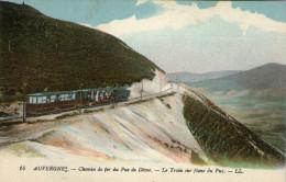 63.ANIMEE..... ...CPA..CHEMEIN DE FER DU PUY DE DOME....NON ECRITE......LOT F 1368 - Clermont Ferrand