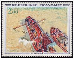 France - YT 1733 - Les Péniches De Derain (1972) - Francia