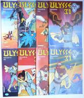 LOT 8 MAGAZINES ULYSSE 31 - EUROGRAFIC - N°1 - 2 - 4 - 5 - 6 - 7 - 8 - 9 1981 - Non Classés