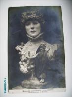 SARAH BERNHARDT  BY GEROME, OLD POSTCARD , 0 - Beroemde Vrouwen