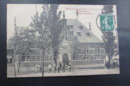 Roubaix 1911  Expo Internationale  Le Palais Des Pays Bas - Roubaix
