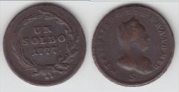**** ITALIE MILAN - ITALIA MILANO - 1 SOLDO 1777 S MARIA THERESIA **** EN ACHAT IMMEDIAT - Temporary Coins