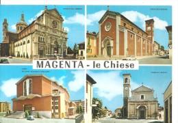 MAGENTA,CHIESE DIVERSE.FG.-I.142 - Milano
