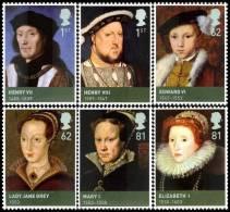 GRAND-BRETAGNE 2009 - Rois Et Reines Britanniques, Les Tudor - 6v Neufs// Mnh - 1952-.... (Elisabetta II)